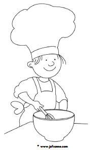 Kleurplaten Koken En Eten.Eten En Drinken Downloads Jufsanne Com