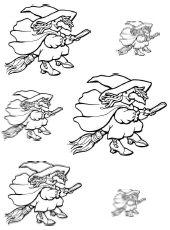 Kleurplaten Heksenketel.Heksen Downloads Jufsanne Com