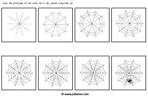Kleurplaten Halloween Spinnen.Herfst Downloads Jufsanne Com