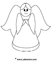 engel kind tekening