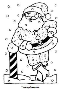 Kleurplaten Kerst Groep 4.Kerstmis Downloads Jufsanne Com
