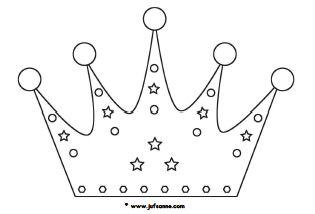 kleurplaat koningsdag kroon