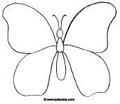muziek vlinder tekening