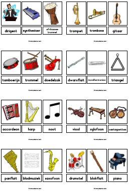 Wonderbaar Muziek kringactiviteiten - JufSanne.com IK-91