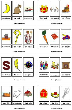 Woordkaarten Downloads Jufsanne Com