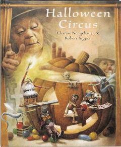 Halloween circus Boek omslag