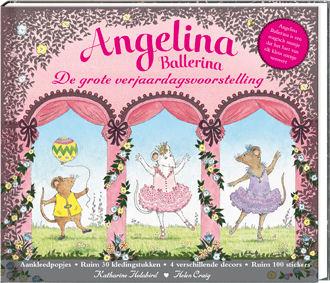 Angelina Ballerina de grote verjaardagsvoorstelling Book Cover