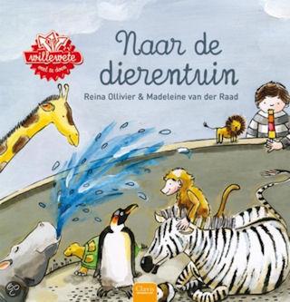Willewete Naar de dierentuin Boek omslag
