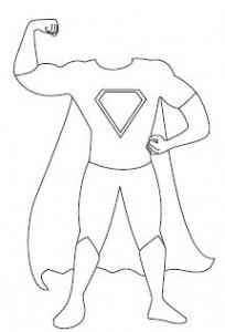 Kleurplaten Superhelden.Kleurplaten Superhelden Kinderboekenweek Brekelmansadviesgroep