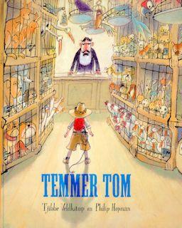 Temmer Tom Boek omslag