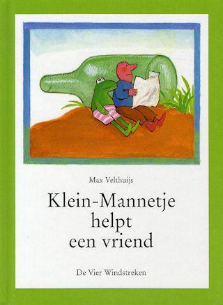Klein-Mannetje helpt een vriend Boek omslag