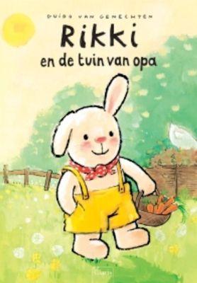 Rikki in de tuin van opa Book Cover