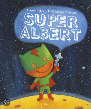Super Albert Boek omslag