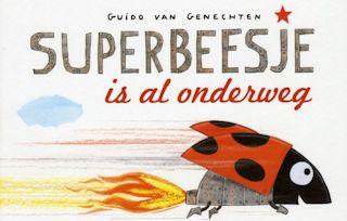 Superbeesje is al onderweg Boek omslag