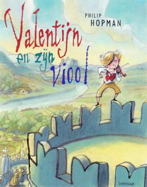 Valentijn en zijn viool Boek omslag