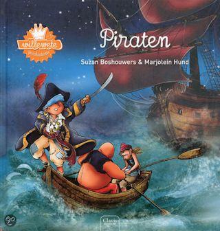 Willewete Piraten Boek omslag
