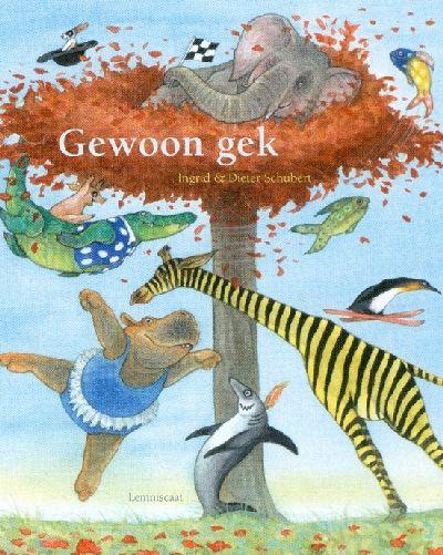 Gewoon gek Book Cover