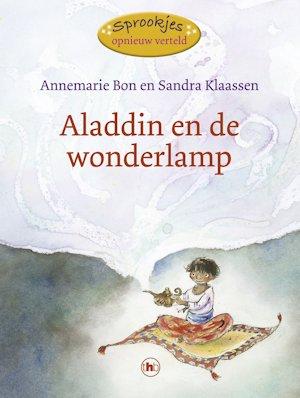Aladdin en de wonderlamp Boek omslag