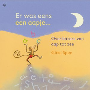 Er was eens een aapje (over letters) Book Cover