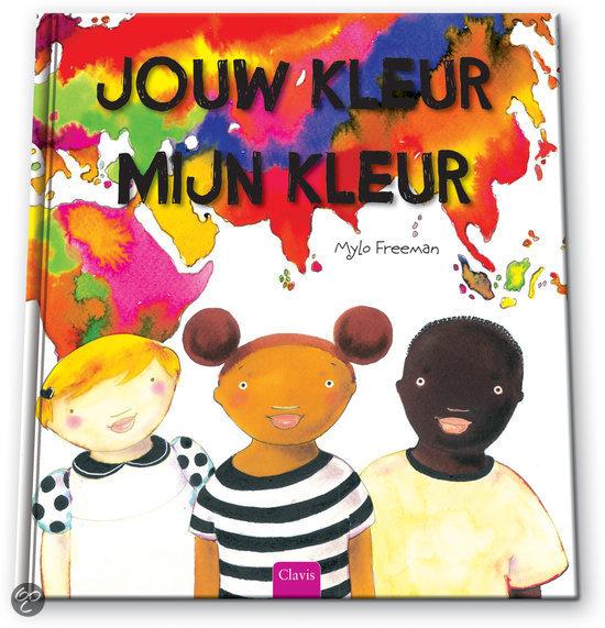 Jouw kleur, mijn kleur Boek omslag