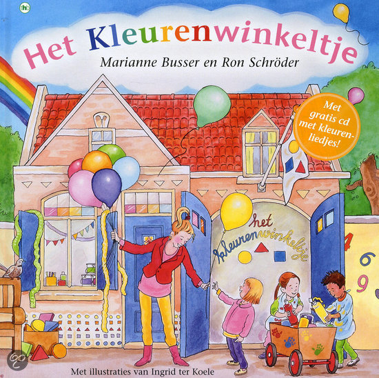 Kleurenwinkeltje, het Book Cover