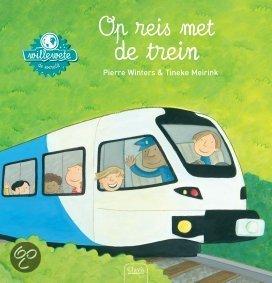 Willewete Op reis met de trein Boek omslag