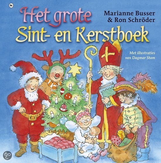 Grote Sint- en Kerstboek, het Boek omslag