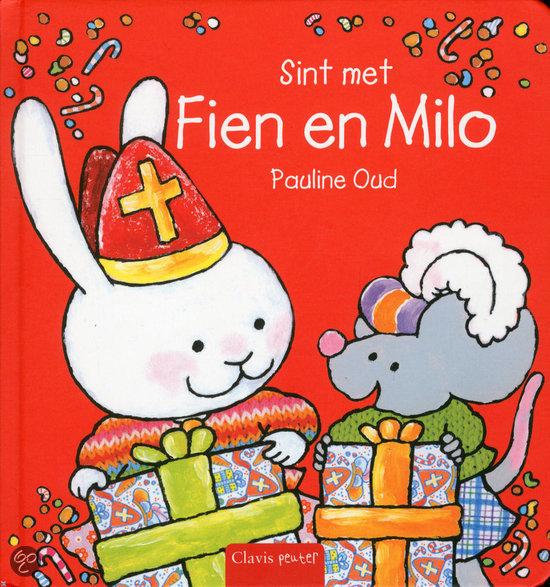 Fien en Milo vieren Sinterklaas Boek omslag