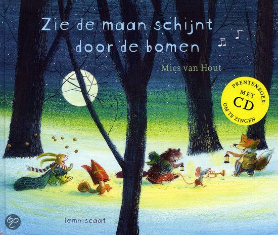 Zie de maan schijnt door de bomen Boek omslag