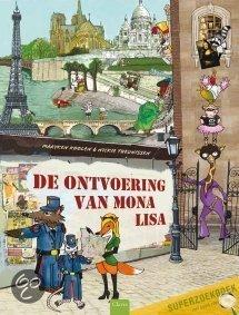 Ontvoering van Mona Lisa, de Book Cover