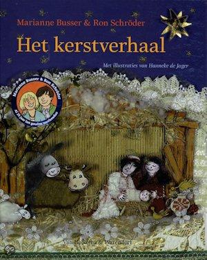 Kerstverhaal, het Boek omslag
