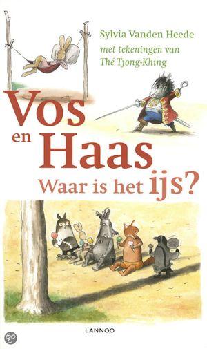 Vos en Haas: Waar is het ijs? Boek omslag