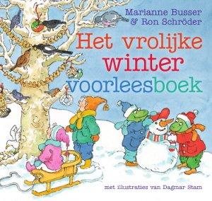 Vrolijke winter voorleesboek, het Boek omslag
