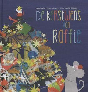Kerstwens van Raffie, de Boek omslag