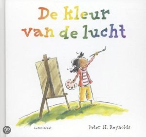 Kleur van de lucht, de Book Cover