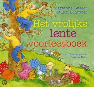 Vrolijke lente voorleesboek, het Book Cover