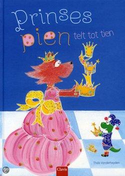 Prinses Pien telt tot tien Boek omslag