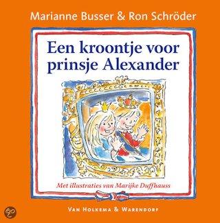 Kroontje voor prinsje Alexander, een Boek omslag