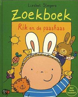 Rik en de Paashaas Boek omslag