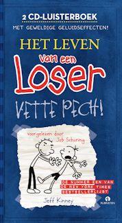 Leven van een loser – Vette pech luisterboek Boek omslag