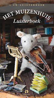 Muizenhuis luisterboek, het Boek omslag
