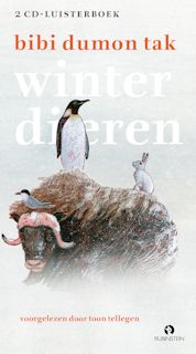 Winterdieren luisterboek Boek omslag