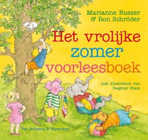 Vrolijke zomer voorleesboek, het Book Cover