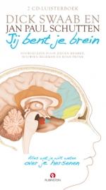 Jij bent je brein luisterboek Boek omslag