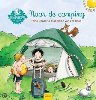 Willewete Naar de camping Book Cover