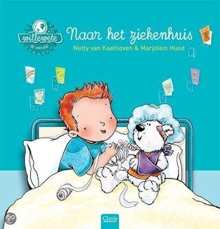 Willewete Naar het ziekenhuis Book Cover