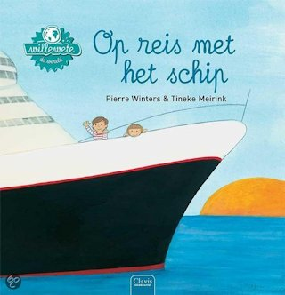 Willewete Op reis met het schip Boek omslag