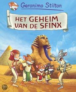 Geheim van de sfinx, het Book Cover