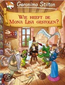 Wie heeft de Mona Lisa gestolen? Boek omslag