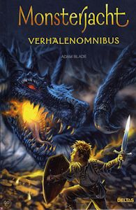 Monsterjacht verhalenomnibus Boek omslag